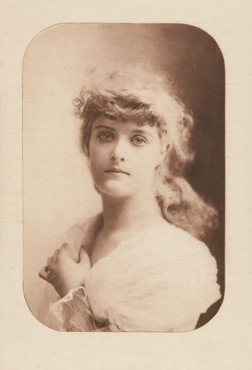 A Portrait Study Falk, B.J.  (American, 1853-1925)