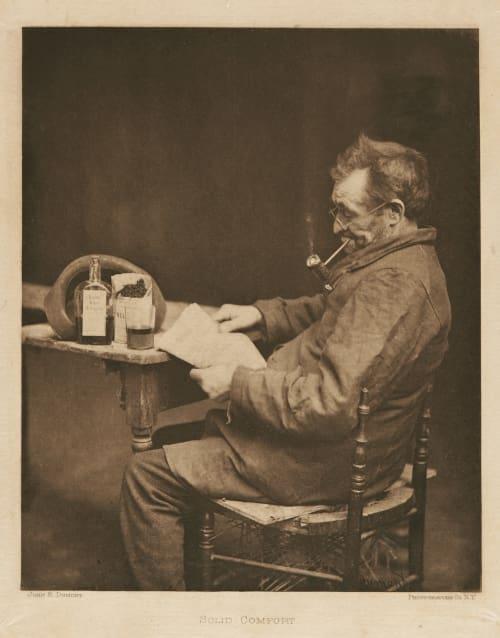 Solid Comfort Dumont, John E.  (American, 1856-1944)