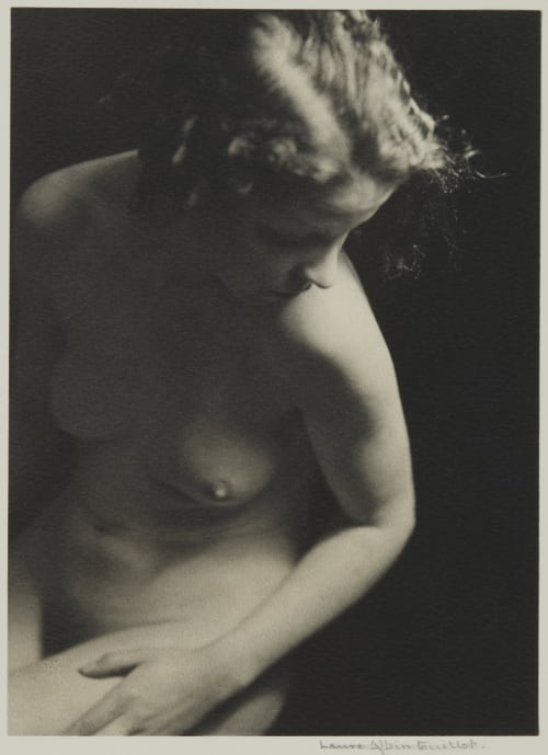 Plate II from La Déesse Cypris Albin-Guillot, Laure  (French, 1879-1962)