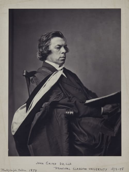 John Caird, D.D., LLD, Principal Glasgow University 1873-98 Annan, Thomas  (Scottish, 1829-1887)