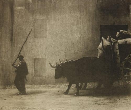 Bullock Cart, Segovia Annan, James Craig  (Scottish, 1864-1946)