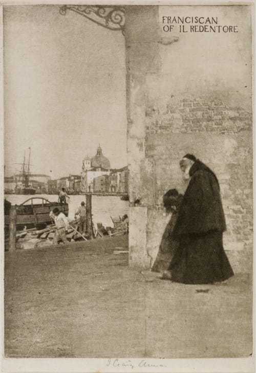 A Franciscan, Venice Annan, James Craig  (Scottish, 1864-1946)