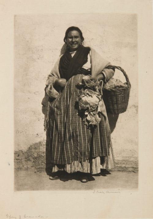 Gipsy of Granada (A Gitana – Granada) Annan, James Craig  (Scottish, 1864-1946)