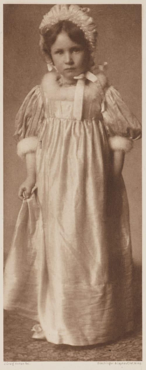 Madie Annan, James Craig  (Scottish, 1864-1946)