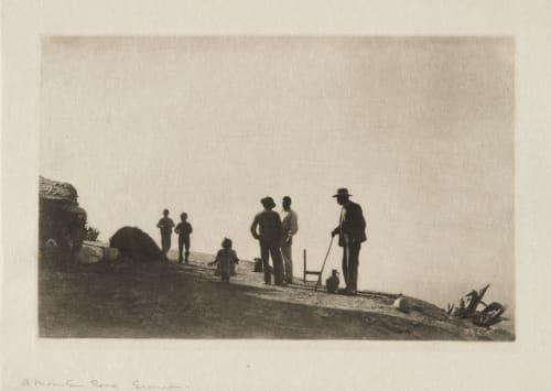 A Mountain Road – Granada Annan, James Craig  (Scottish, 1864-1946)