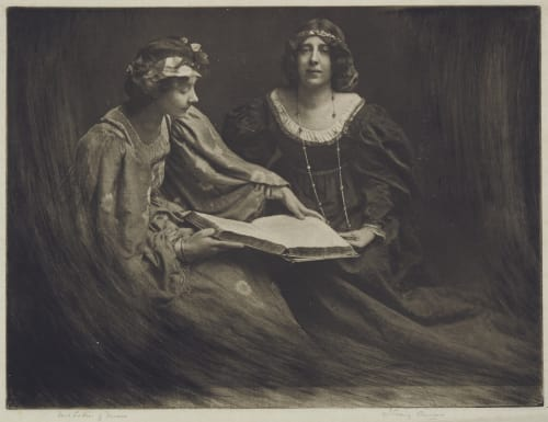 Two Ladies of Verona Annan, James Craig  (Scottish, 1864-1946)