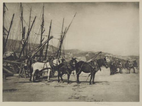 The Harbon, Genoa Annan, James Craig  (Scottish, 1864-1946)