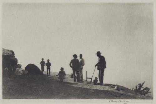 A Mountain Road Grananda Annan, James Craig  (Scottish, 1864-1946)