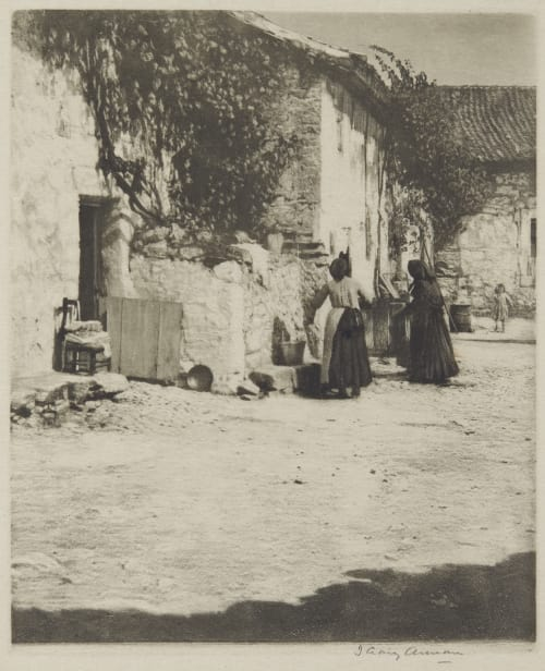 Courtyard Segovia Annan, James Craig  (Scottish, 1864-1946)