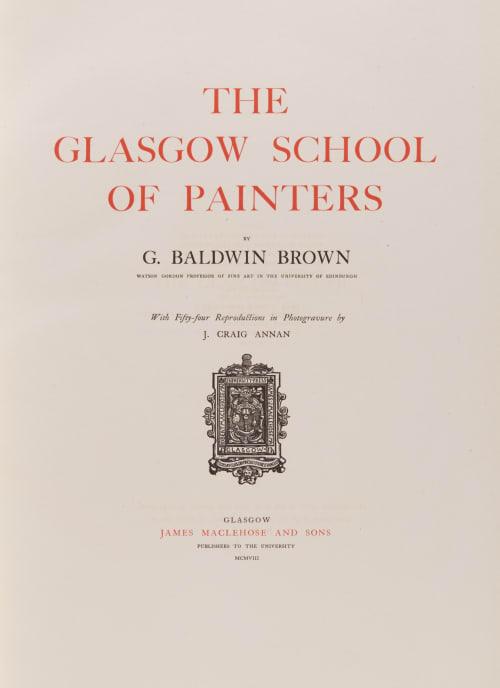 Title Page Annan, James Craig  (Scottish, 1864-1946)