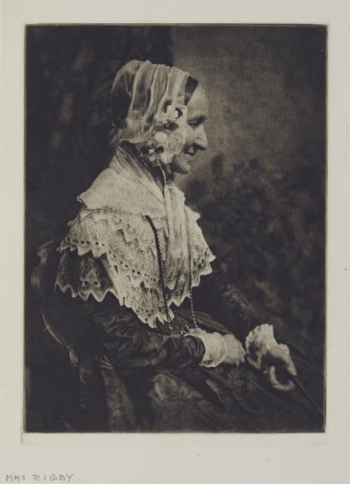 Mrs Rigby Hill, David Octavious  (Scottish, 1802-1870)Adamson, Robert  (Scottish, 1821-1848)