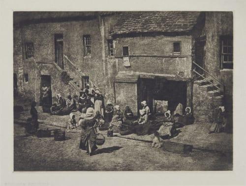 Newhaven Fishwives Hill, David Octavious  (Scottish, 1802-1870)Adamson, Robert  (Scottish, 1821-1848)