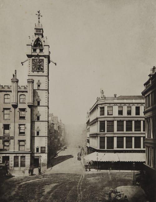 High Street from the Cross Annan, Thomas  (Scottish, 1829-1887)