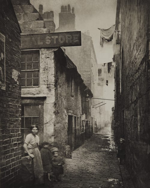 Old Vennel off High Street Annan, Thomas  (Scottish, 1829-1887)