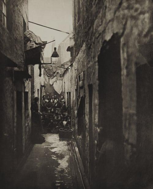 Close No. 118 High Street Annan, Thomas  (Scottish, 1829-1887)