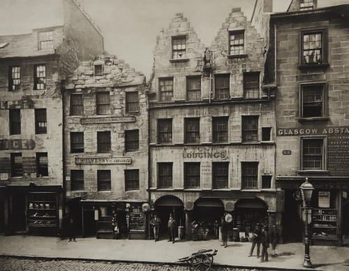 Old Buildings in High Street, No 17 – 27 Annan, Thomas  (Scottish, 1829-1887)