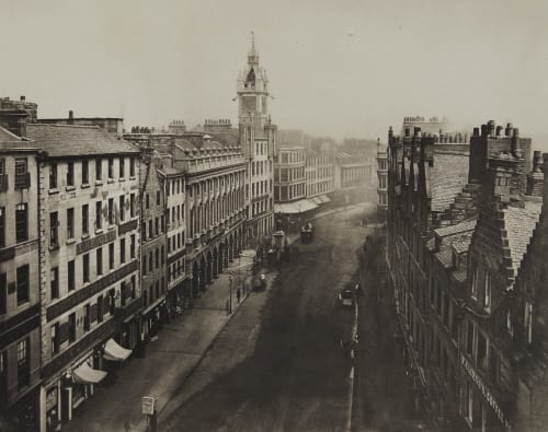 Trongate from Tron Steeple Annan, Thomas  (Scottish, 1829-1887)