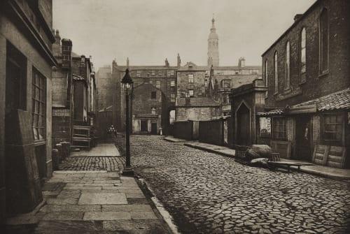 Low Green Street Annan, Thomas  (Scottish, 1829-1887)