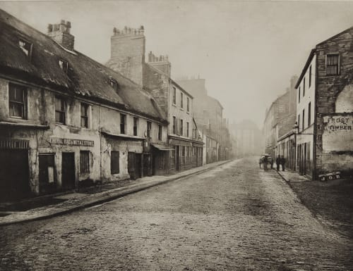 Main St. Gorbals, Looking South Annan, Thomas  (Scottish, 1829-1887)