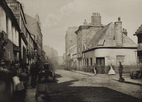 Main Street Gorbals, Looking North Annan, Thomas  (Scottish, 1829-1887)