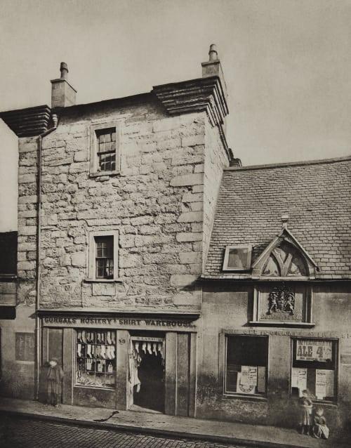 Elphinstone Tower, Main Stree, Gorbals Annan, Thomas  (Scottish, 1829-1887)