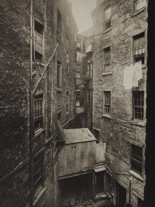 Corner of Duke Street and High Street Annan, Thomas  (Scottish, 1829-1887)