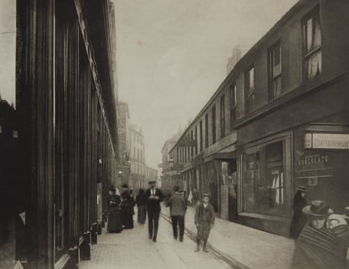 Nelson Street, City Annan, Thomas  (Scottish, 1829-1887)