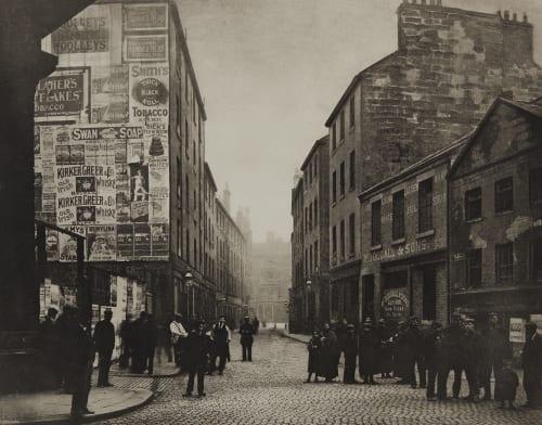 Bridgegate from Corner of Market Street Annan, Thomas  (Scottish, 1829-1887)