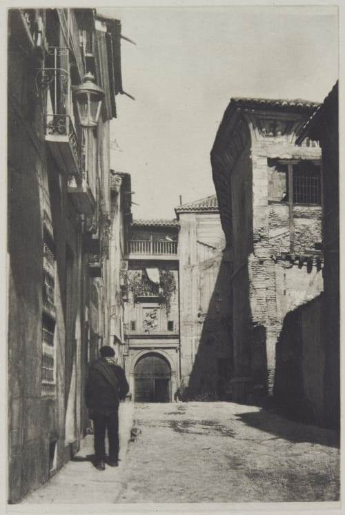 Street in Toledo Annan, James Craig  (Scottish, 1864-1946)