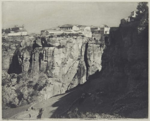 Ronda (Cliffs) Annan, James Craig  (Scottish, 1864-1946)