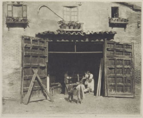Carpenter's Shop, Toledo Annan, James Craig  (Scottish, 1864-1946)