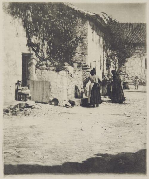 Courtyard, Segovia Annan, James Craig  (Scottish, 1864-1946)
