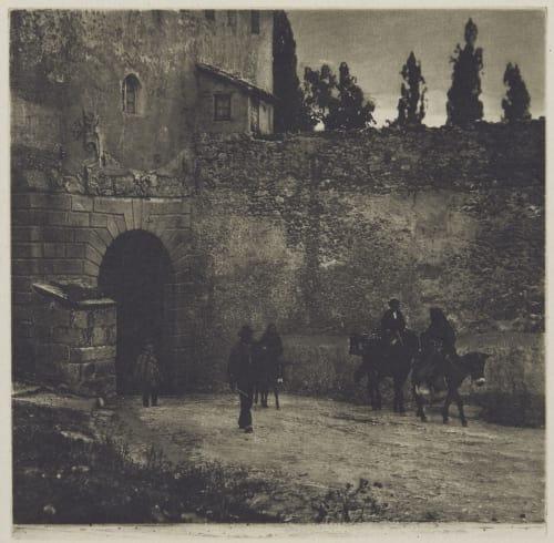 Gateway, Segovia Annan, James Craig  (Scottish, 1864-1946)