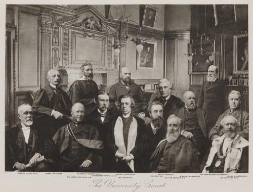 The University Court Annan, Thomas  (Scottish, 1829-1887)