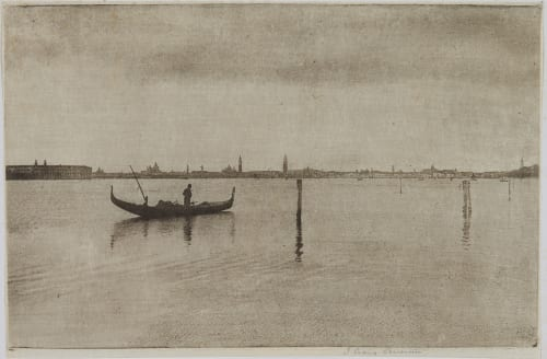 Venice from Lido Annan, James Craig  (Scottish, 1864-1946)