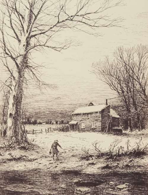 Winter Boughton, George Henry  (American, 1833-1905)