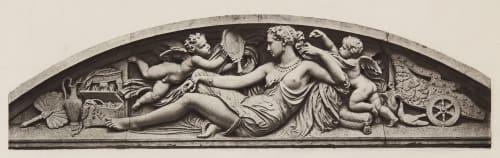 Tuileries_Aile Sud (Façade sur le Quai) Baldus, Edouard  (French, 1813-1889)