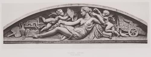 pl 11 Tuileries _ Aile Sud. Facade sur le Quai Baldus, Edouard  (French, 1813-1889)