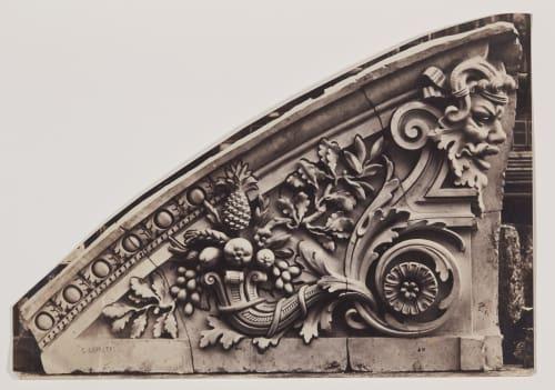 Louvre detail Baldus, Edouard  (French, 1813-1889)