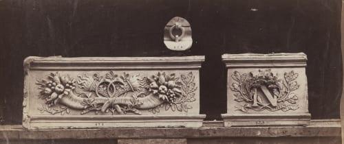 Tuileries, Façade Sur La Cour (pl 23) Baldus, Edouard  (French, 1813-1889)