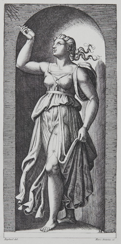 La Foi d'apres Raphael Baldus, Edouard  (French, 1813-1889)