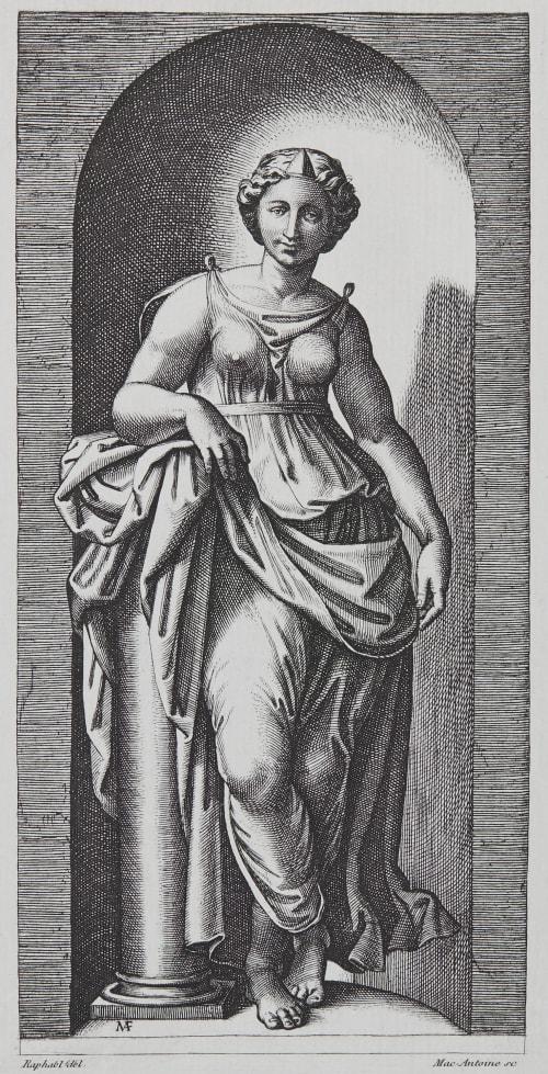 La Force d'apres Raphael Baldus, Edouard  (French, 1813-1889)
