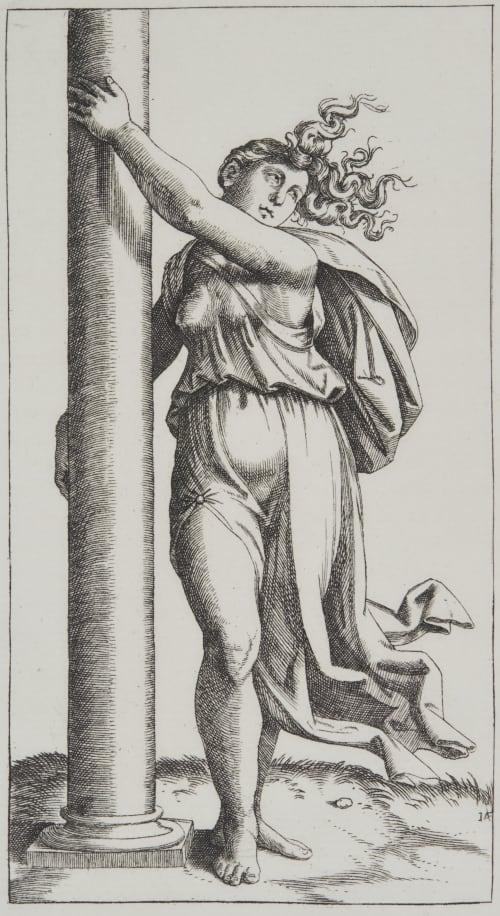 Strength by Raimondi Raimondi, Marcantonio  (Italian, 1480-1534 ca)