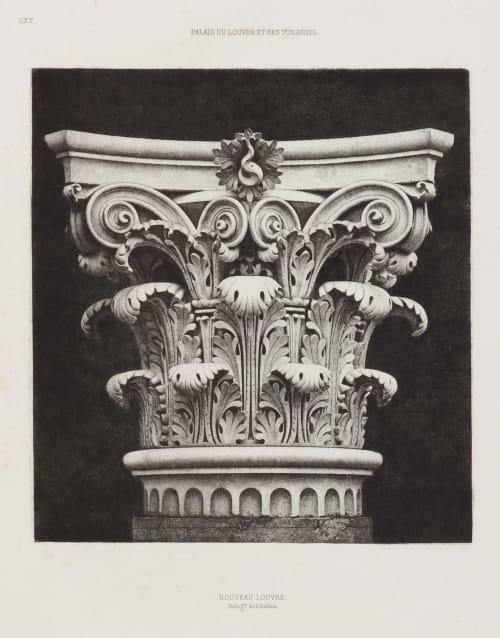 Nouveau Louvre, Ext. 7 Baldus, Edouard  (French, 1813-1889)