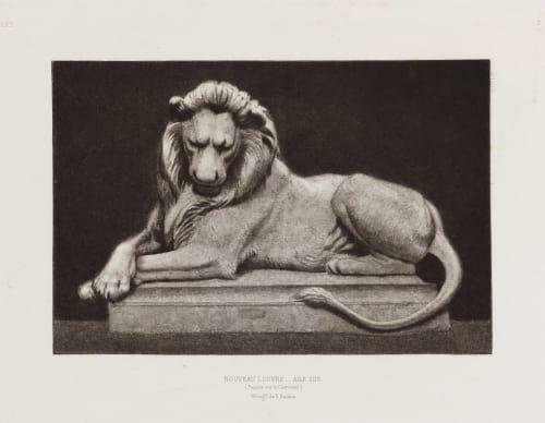 Nouveau Louvre Aile Sud, Ext. 3 Baldus, Edouard  (French, 1813-1889)