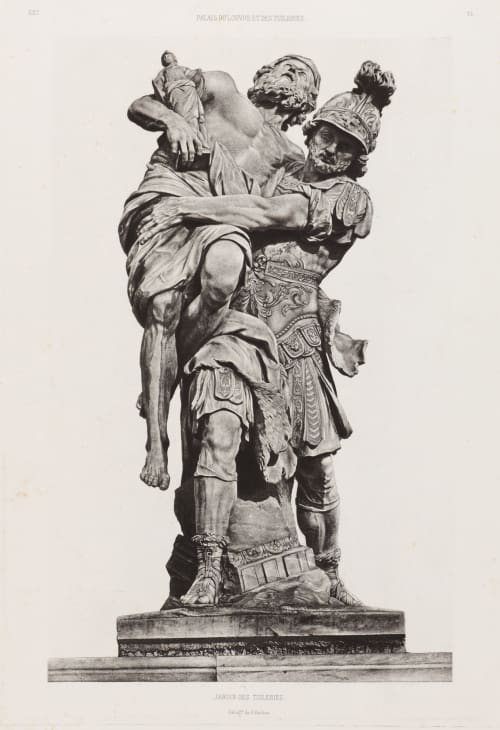 Jardin des Tuileries, Ext. 51 Baldus, Edouard  (French, 1813-1889)