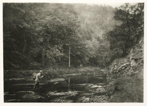 "Plate XXXVIII In Dove Dale ""Habet!"" Bankart, George  (British, 1829-1916)"