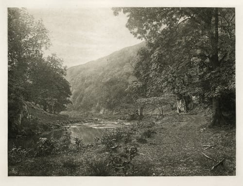 Plate XLIII In Dove Dale Bankart, George  (British, 1829-1916)