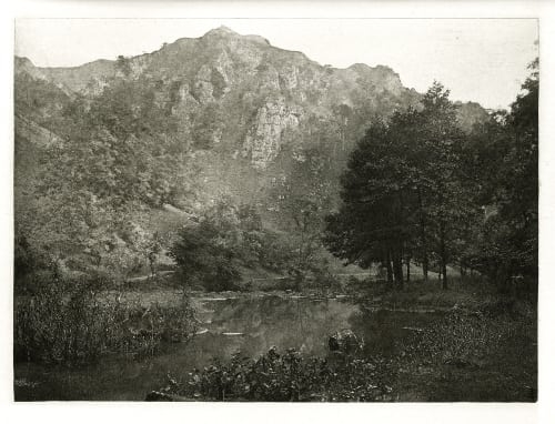 Plate XLIV In Dove Dale Bankart, George  (British, 1829-1916)