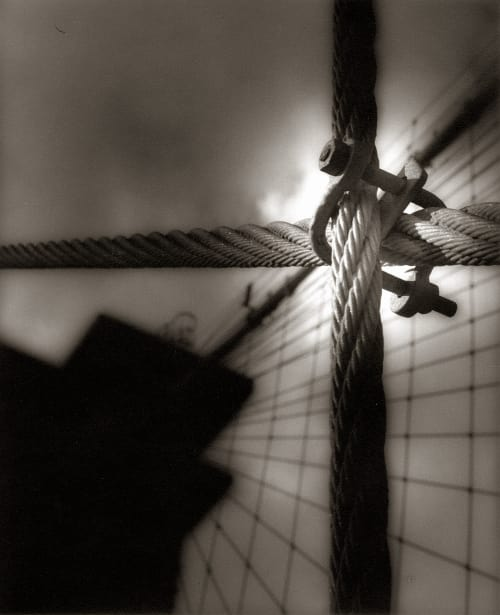 Brooklyn Bridge with Clamp Baril, Tom  (American, b.1952)